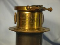 '     Clement and Gilmer Large Brass Projection Lens -NICE-RARE- ' Clement and Gilmer Paris  Brass  Lens -NICE- £99.99